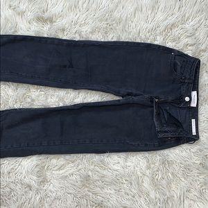 Black Pacsun Mom Jeans